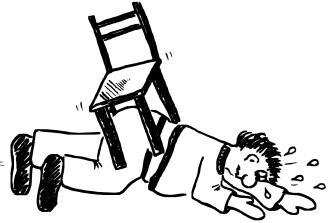 Der Schmerz in der Muskel des Halses beim Aufstieg des Kopfes